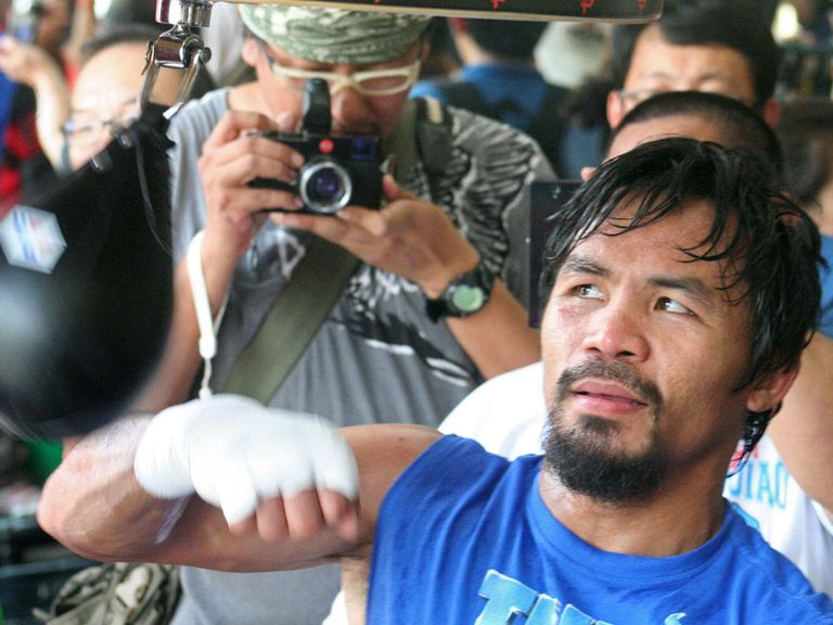 Manny Pacquiao: Fights Brandon Rios in China this weekend