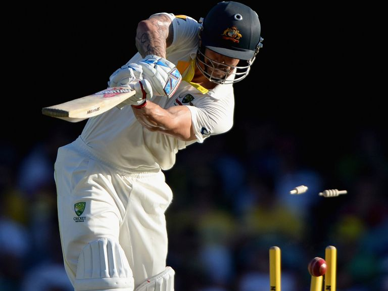 Broad ends Johnson's resistance at the Gabba