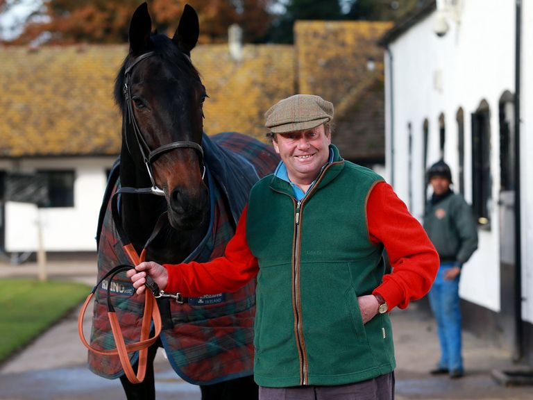 Nicky Henderson has good news about Sprinter Sacre