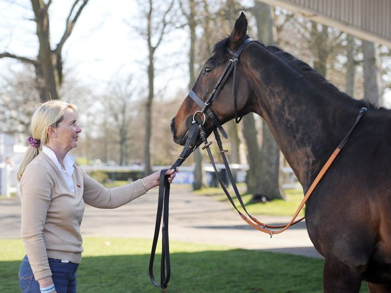 Sue Smith: Enjoys having winners at Wetherby