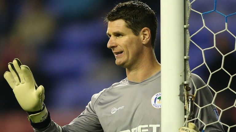 Mike Pollitt: Sticking with the Latics