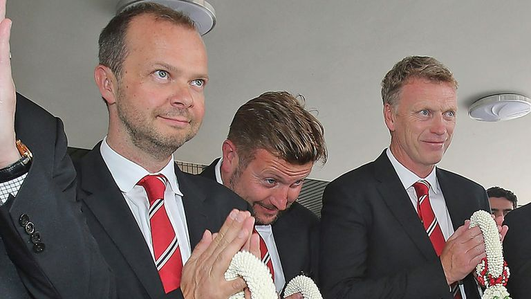 Ed Woodward (left): On-field performances are disappointing