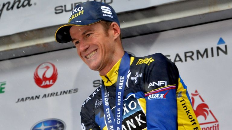 Michael Rogers: Relieved after doping ban is lifted