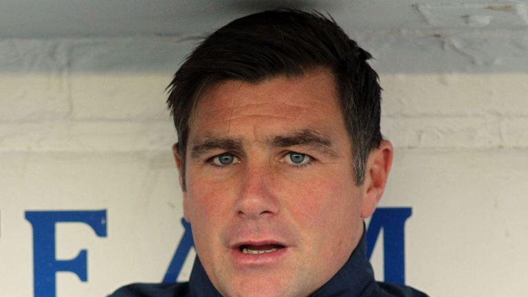 Richie Barker: Not looking to plunder Broadfield Stadium