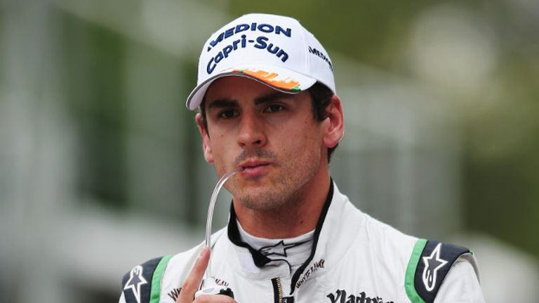 Adrian Sutil: Aiming to score top-three finish with Sauber