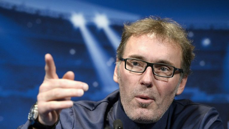 Laurent Blanc: The PSG boss was coached by Mourinho while at Barcelona