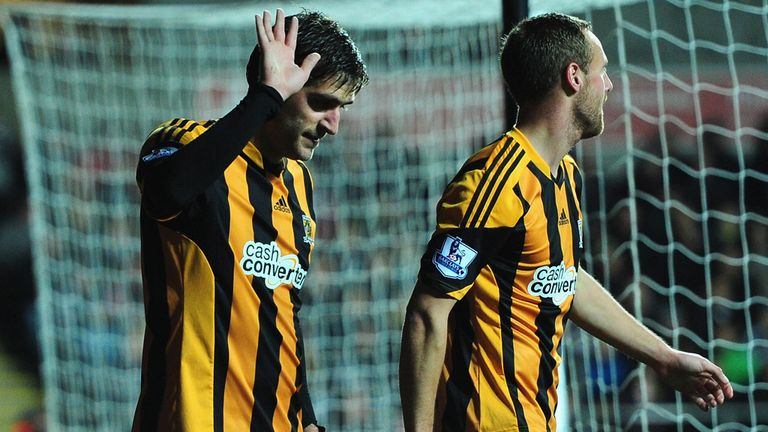 Danny Graham: Did not celebrate his goal against Swansea