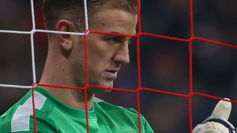 Joe Hart: 'Right decision' to rest England goalkeeper