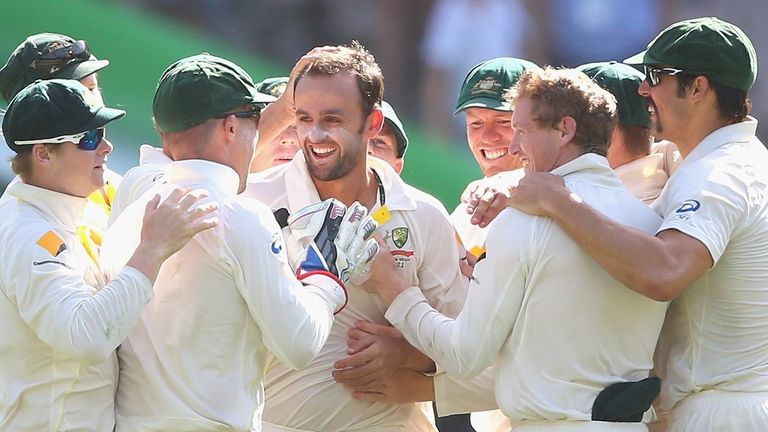Nathan Lyon made light work of the England batsmen