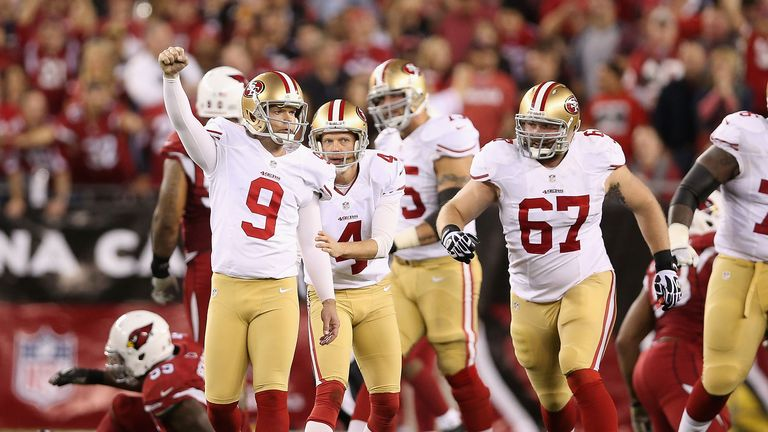 The 49ers will be on the road despite suprerior record