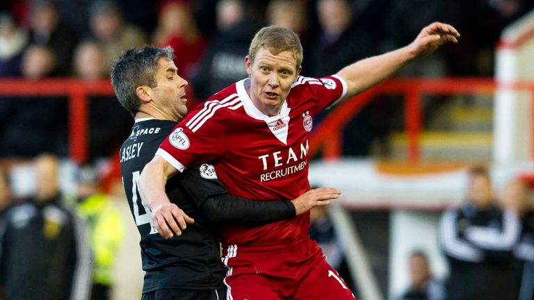 Barry Robson: Midfielder played a big part in Aberdeen finishing in third place last season