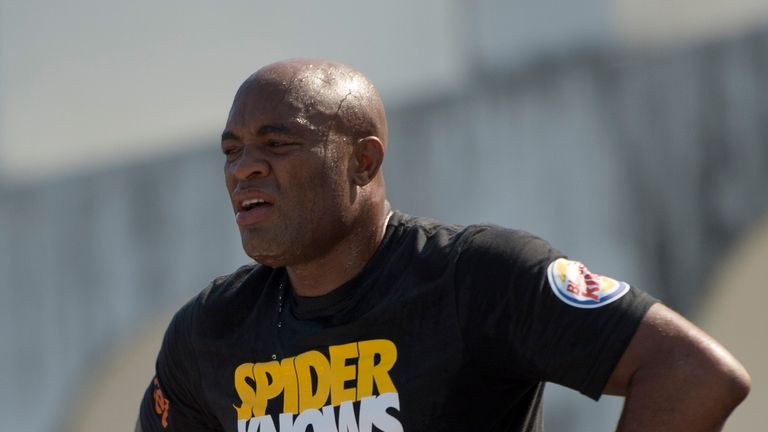 Anderson Silva: Lost on Saturday night after suffering a suspected broken leg against Chris Weidman