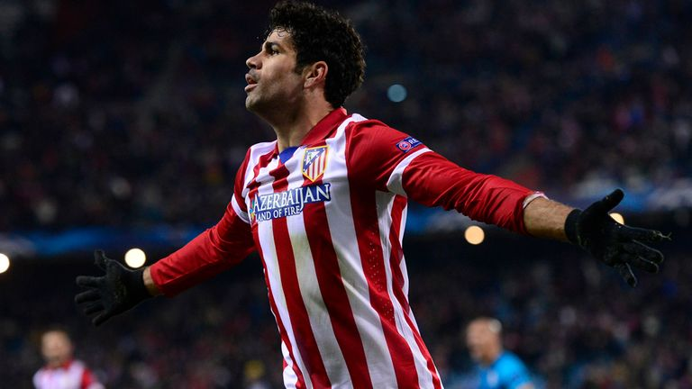 Diego Costa: Scored twice in Atletico Madrid's win over Valencia
