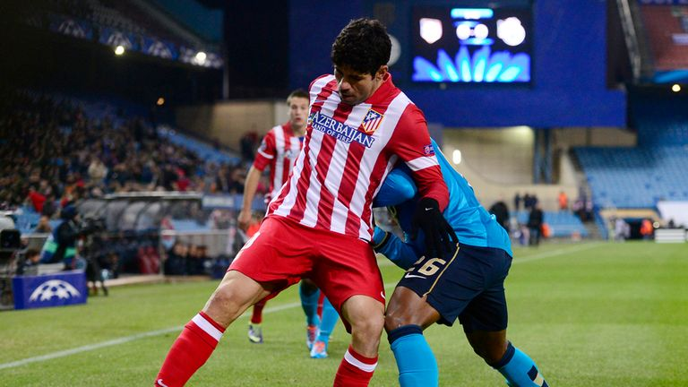 Diego Costa: On target for Atletico in win over Porto