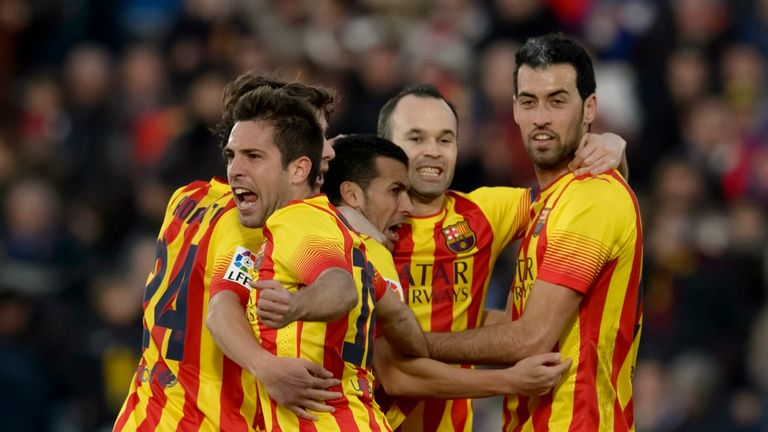 Barcelona: Stormed back to thrash Getafe