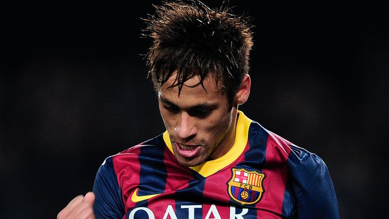 Neymar: Joined Barcelona in the summer in a controversial deal