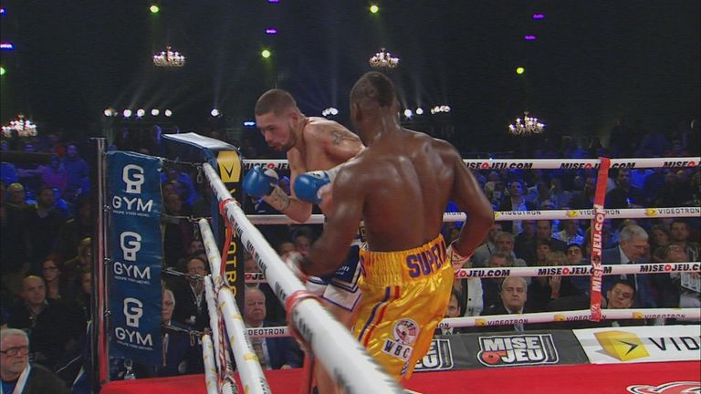 Adonis Stevenson stopped Tony Bellew in seven at light-heavyweight five years ago