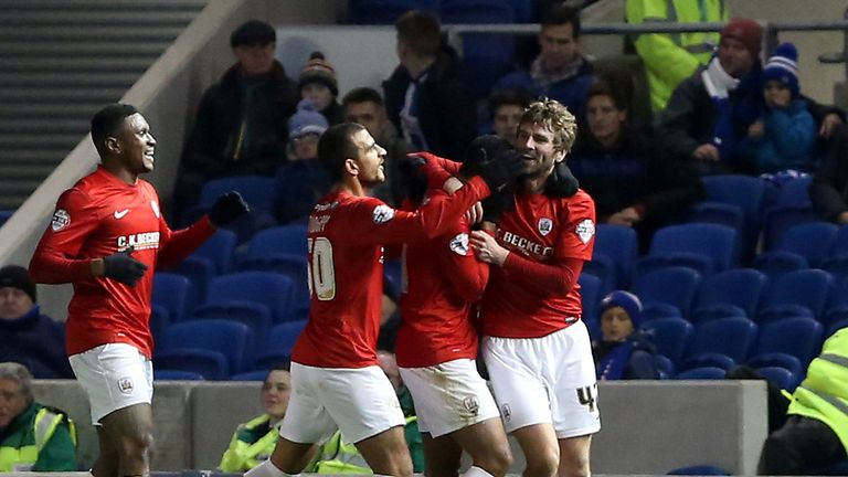 Paddy McCourt: Netted opener for Barnsley