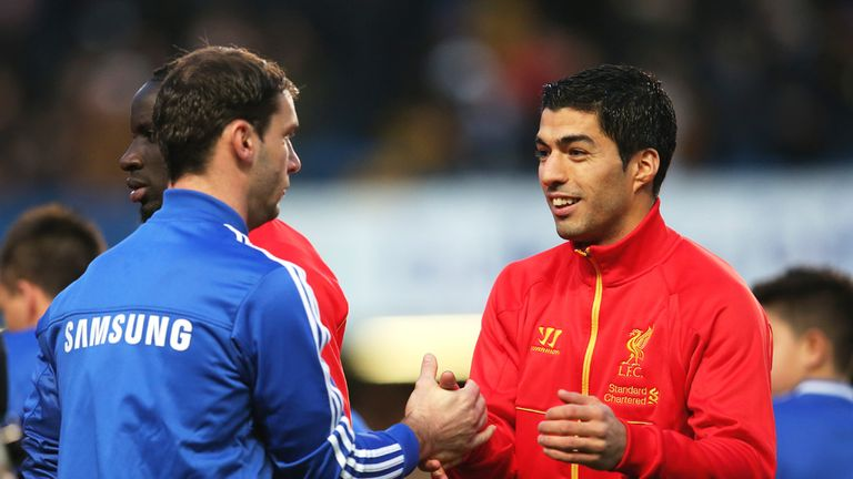 Branislav Ivanovic: Says everything is normal again with Luis Suarez