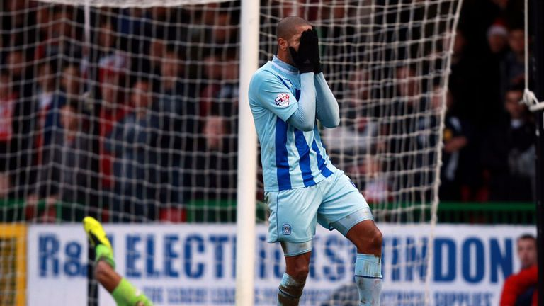 Leon Clarke: Coventry striker linked with move to Wolves