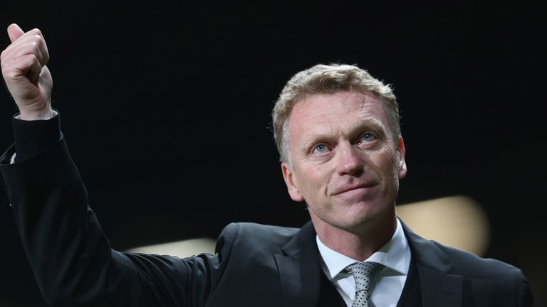 David Moyes: Saw Manchester United get back to winning ways