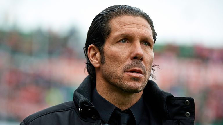 Diego Simeone: Praises his players' efforts