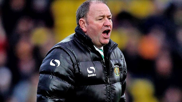 Gary Johnson: Delighted for Yeovil's scorers at Blackpool
