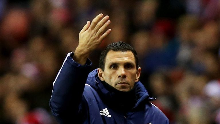 Gus Poyet: Happy with side's response