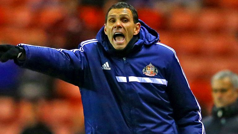 Gus Poyet: Sunderland boss is off to Wembley in March