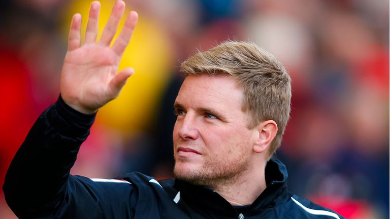 Eddie Howe: Took three points home from Yorkshire