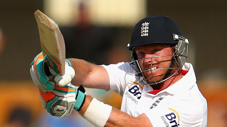 Ian Bell: toiled to 27 from 98 balls