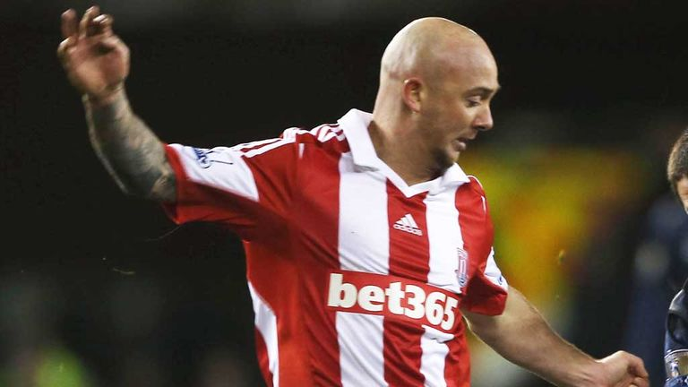 Stephen Ireland: Aston Villa midfielder is on loan at Stoke for the season