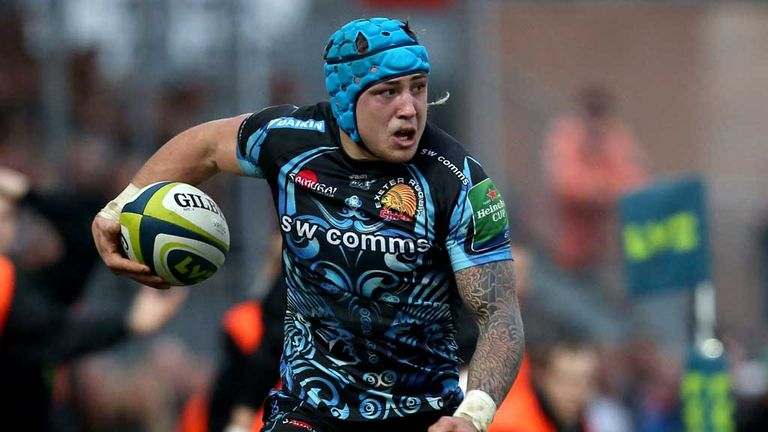 Jack Nowell: Hoping for England debut at Stade de France