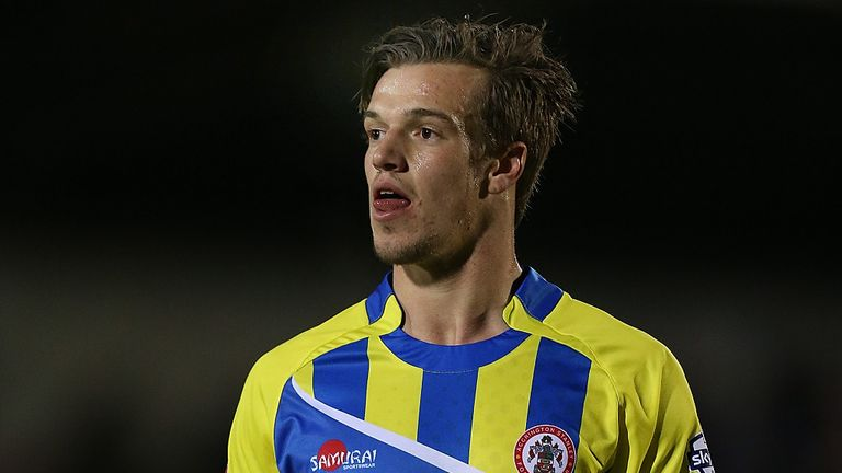 James Gray: Late winner for Accrington