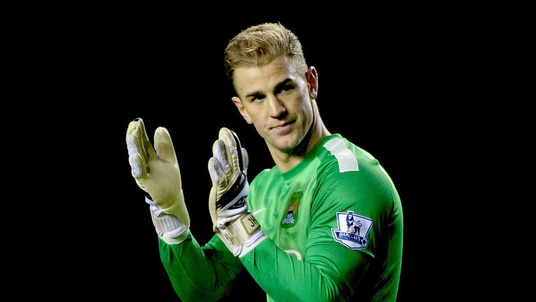 Joe Hart: Earned praise from Manuel Pellegrini after performance against Liverpool