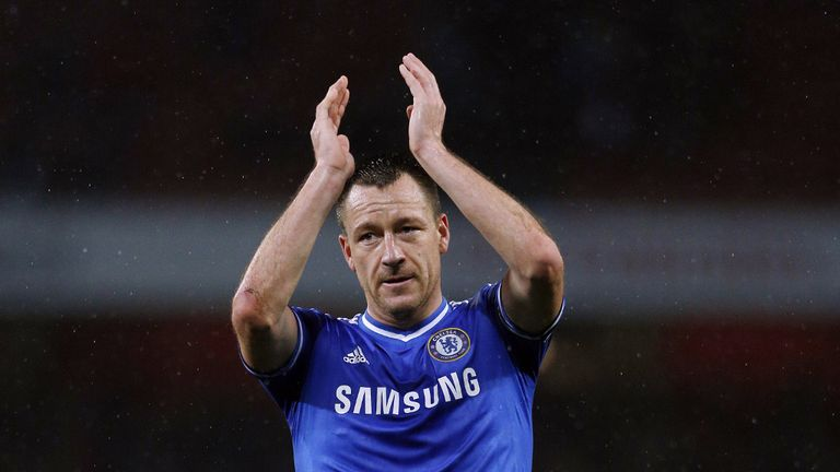 John Terry: Captained Chelsea to a 2-1 victory over Liverpool on Sunday