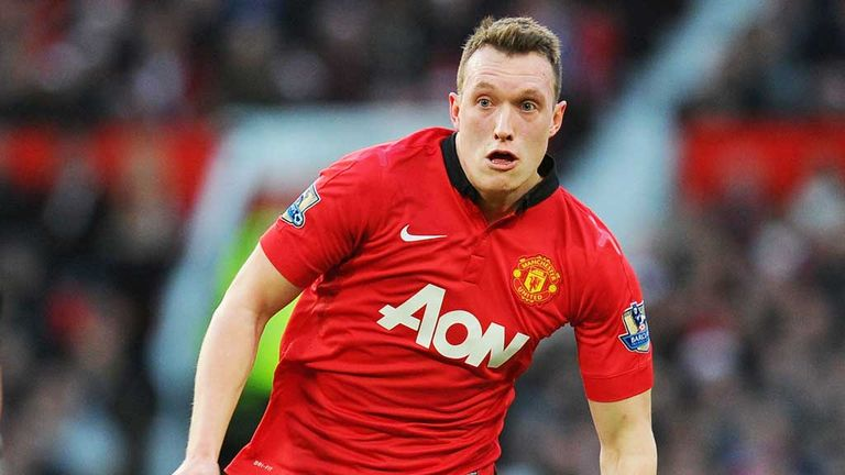 Phil Jones: Manchester United defender has suffered a knee injury