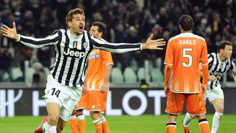Fernando Llorente: Celebrates winner for Juventus