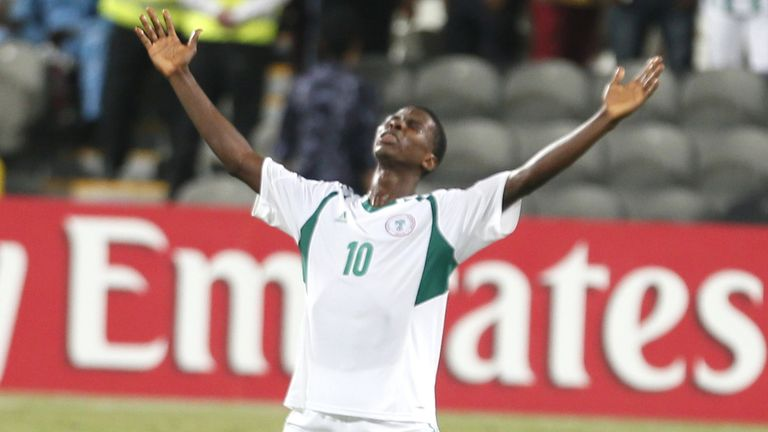 Iheanacho was the star of Nigeria's Under-17 World Cup win in 2013