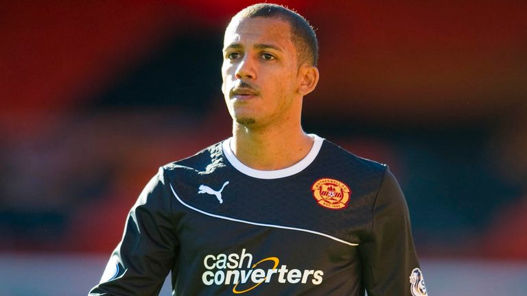 Lionel Ainsworth: Enjoying his time in Scotland