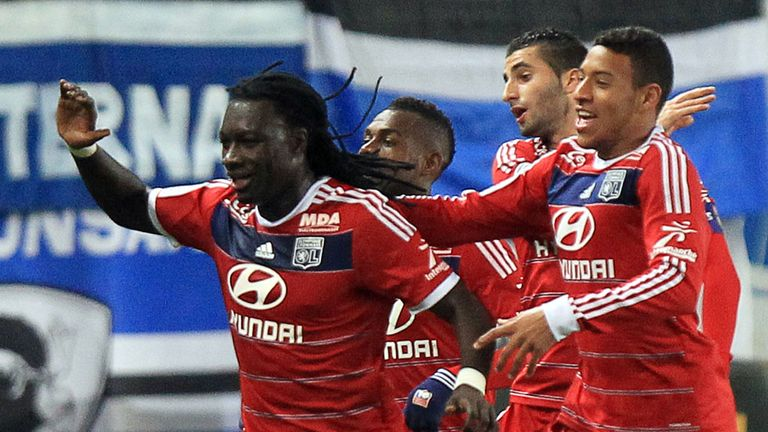 Bafetimbi Gomis: On the scoresheet for Lyon