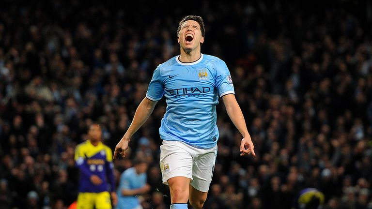 Samir Nasri: Back in training and close to a return