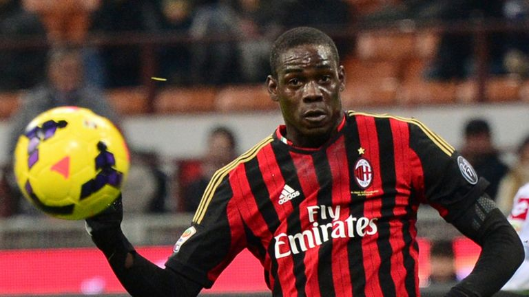 Mario Balotelli: AC Milan striker has worked previously with Jose Mourinho
