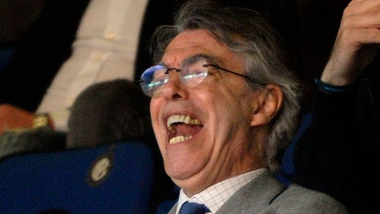Massimo Moratti: Still longs for Jose Mourinho
