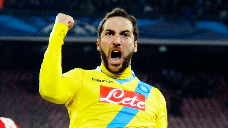 Higuain: key player for Napoli, says Trevor