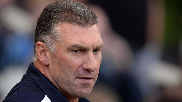 "Nigel Pearson: Wants his side to play ""with freedom"""