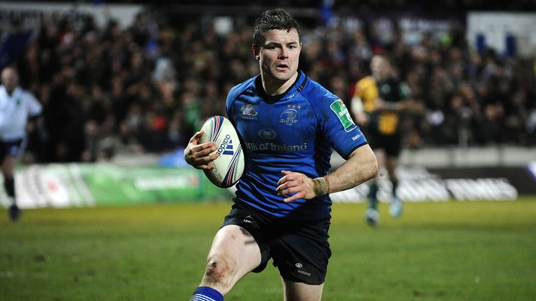 Brian O'Driscoll: Returns in the centre for Leinster alongside Gordon D'Arcy