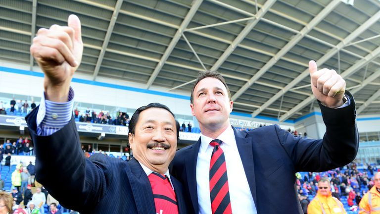 Vincent Tan and Malky Mackay: Talks delayed until after Christmas
