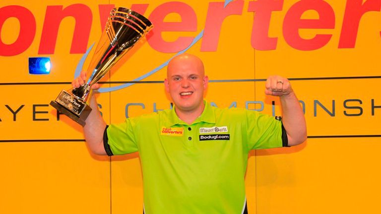 Michael van Gerwen: Finished the match by taking out double 12 for a 14-dart leg