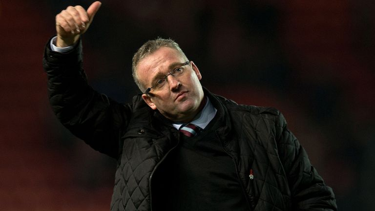 Paul Lambert: Aston Villa boss praised by David Moyes